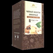 Имбирный чай с корицей, медом и лимоном