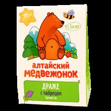 Алтайский медвежонок с чабрецом