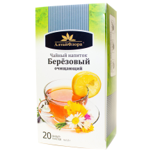 Чай березовый очищающий